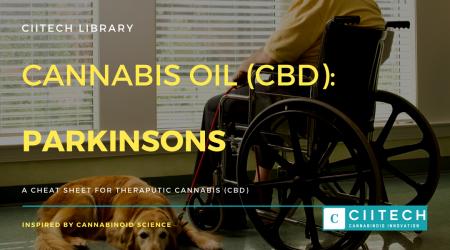 Cannabis Cheatsheet Parkinsons Disease CBD Cannabis Oil UK